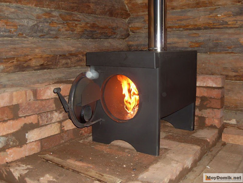 Печка для дачи сделать своими руками