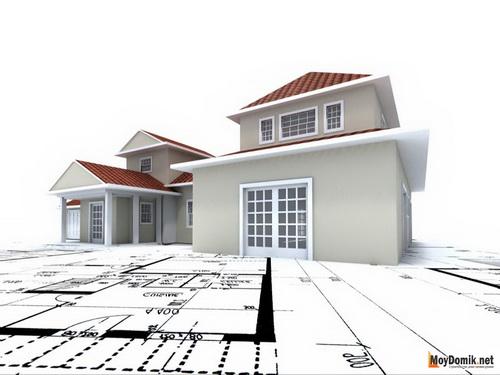 как оформить строительство дома на участке