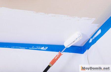 Как правильно побелить потолок (стены) своими руками – побелка известью, мелом и водоэмульсионной краской