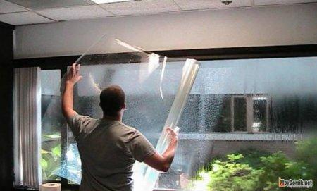 Как правильно наклеить солнцезащитную пленку на окна своими руками