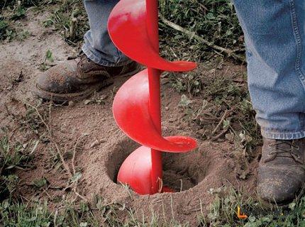 Как сделать бур для земляных работ – самодельный инструмент для ручного бурения земли