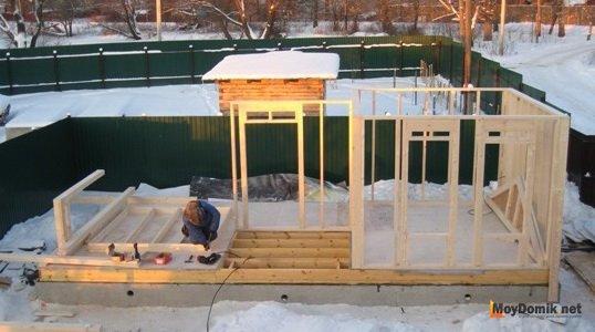Технология строительство дома по финской технологии своими руками