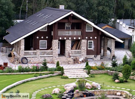 Дизайн загородного дома и участка