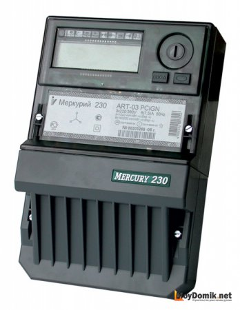 электросчетчика - схема