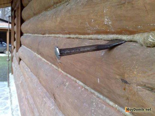 Цены герметизация швов в деревянном доме