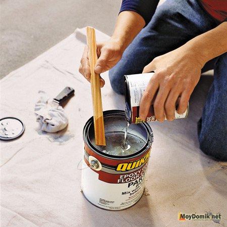 Как развести краску в домашних условиях