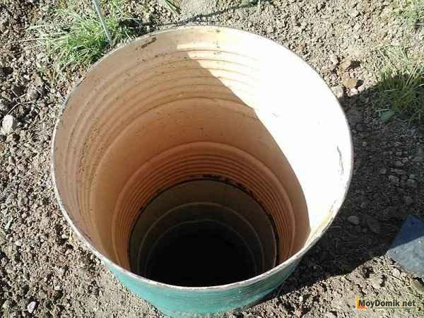 Выгребная яма для туалета на