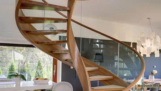 Как сделать лестница на второй этаж своими