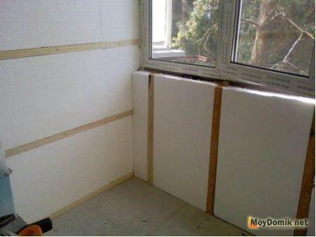 Утепление балкона пола своими руками пошаговая инструкция фото