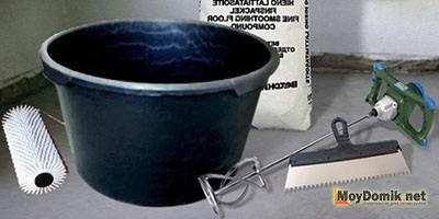 Инструмент для устройства наливного пола