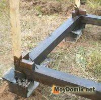 Строим деревянный туалет на даче