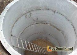 Колодца из бетонных колец