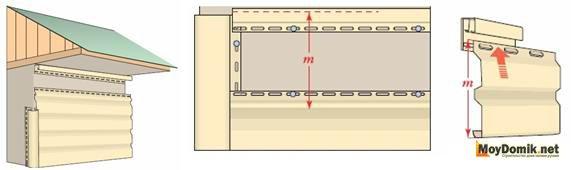 Монтаж финишных планок и последнего ряда панелей