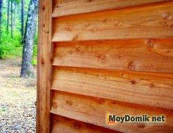 Способы монтажа деревянного сайдинга внахлест