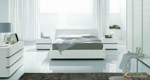 Красивые интерьеры белых спален – создаем безупречный дизайн светлой спальни