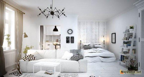 Диваны в светлой гостиной дизайн фото