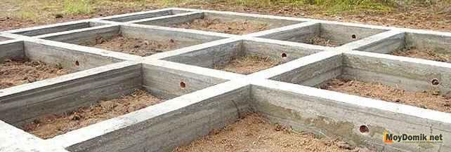 Мелко заглубленный ленточный фундамент для дома своими 84