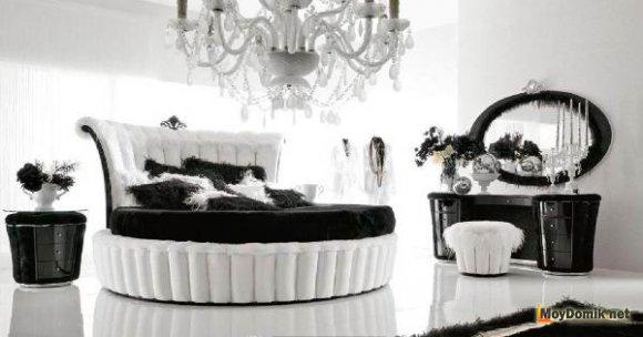 Черно-белая спальня – интерьер или стиль комнаты, бросающий вызов традиционному оформлению квартиры