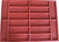 Форма для изготовления камня из гипса