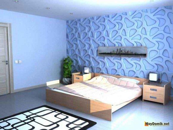 3d стеновые панели как функциональный элемент декора