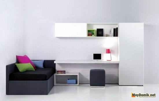 Рабочее пространство в стиле минимализм