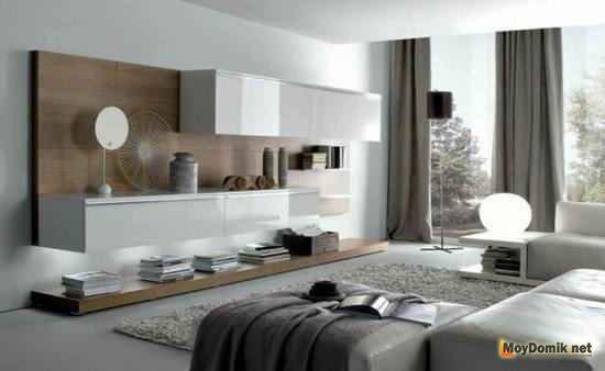 Тумбы и стеллажи в стиле минимализм