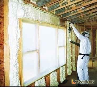 Утепление стен мансарды изнутри своими руками