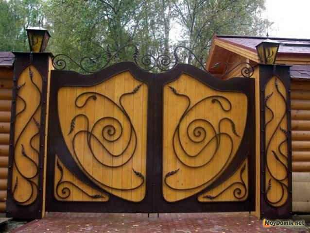 Ворота установка своими руками