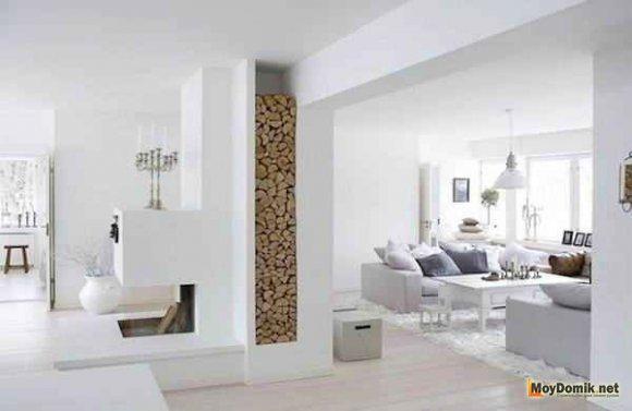 Скандинавский минимализм в интерьере квартиры