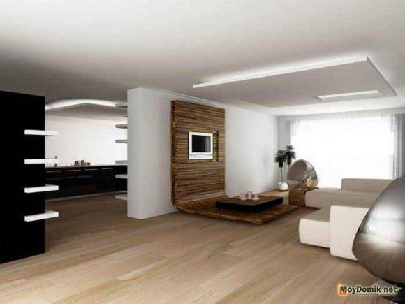 Потолок в стиле минимализм