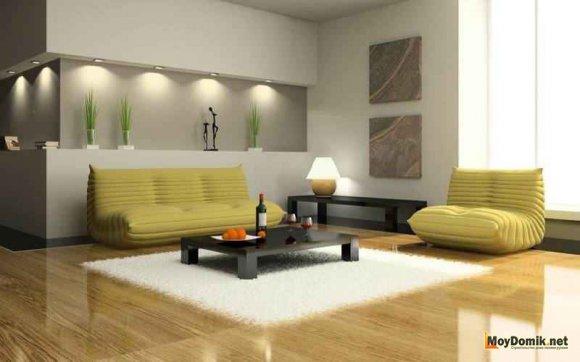 Мягкая мебель в стиле минимализм