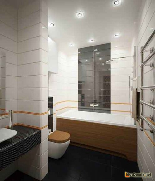 Минимализм в интерьере ванной