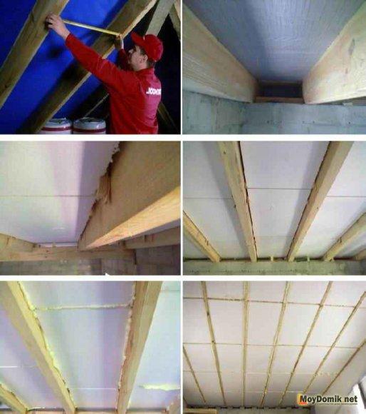 Утепление межэтажных перекрытий пенопластом - пошаговая инструкция