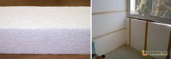 Как утеплить комнату изнутри своими руками