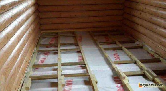 Межэтажное деревянное перекрытие своими руками