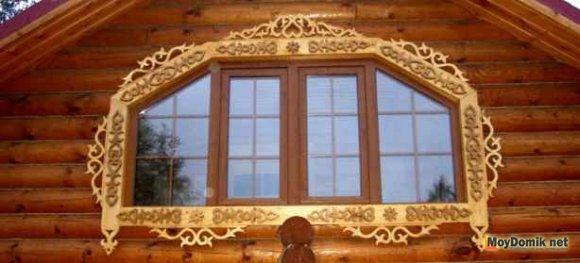 Резные деревянные наличники на окна своими руками