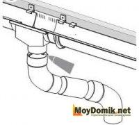 Монтаж колена водосточной трубы с использованием клея