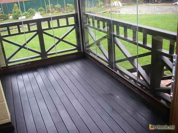 Ограждения для террасы и балкона - варианты устройства + инс.