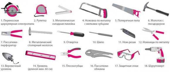 Инструмент для установки металлических дверей