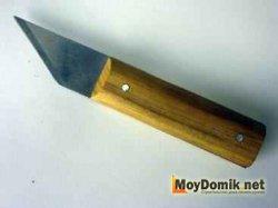 Сапожный нож для снятия краски с окон