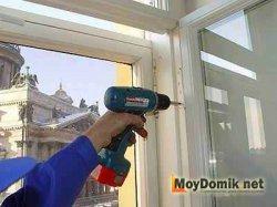 Демонтаж деревянных окон