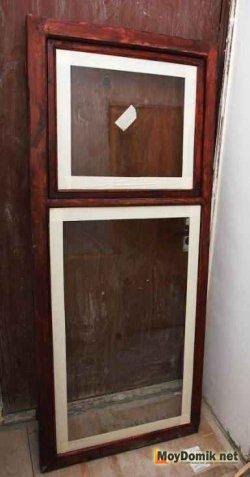 Покрытие морилкой деревянных окон