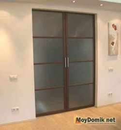 Раздвижные двери встроенные в стену