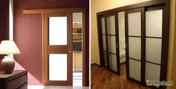 Открытый (внешний) механизм для раздвижных дверей