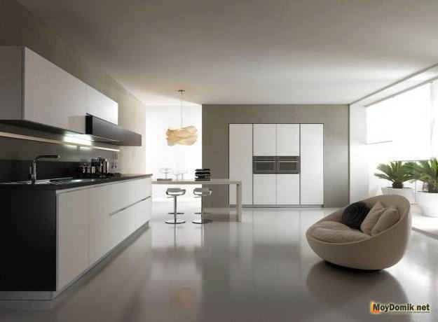 Современный интерьер кухни 2015