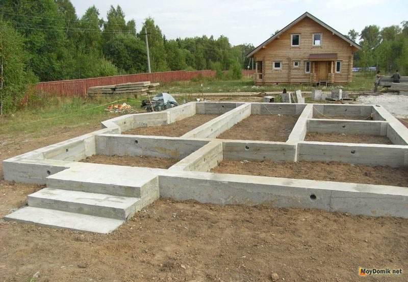 фундамент под деревянный дом своими руками пошаговая инструкция - фото 7