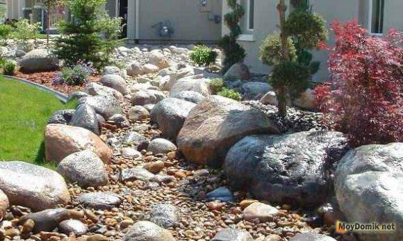 Камни для ухого ручья