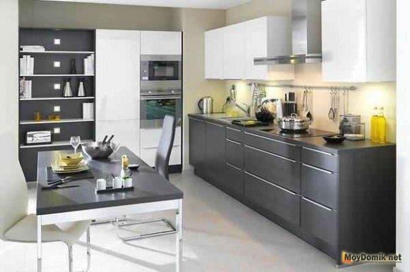 Цвета в интерьере современной кухни