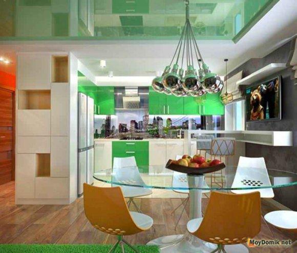 Мебель в интерьере современной кухни