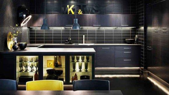 Кухни Икеа 2015 в интерьере